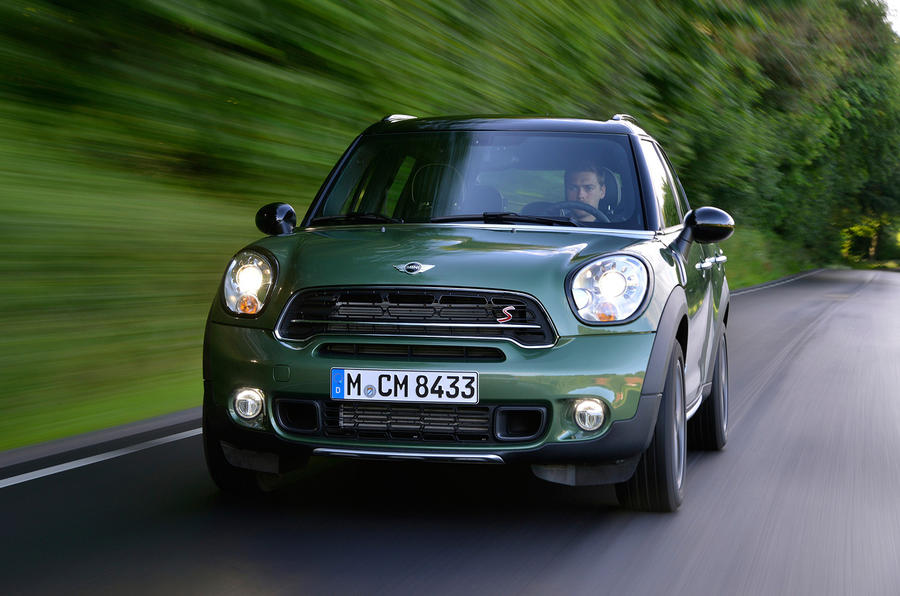 mini countryman cooper s all4 first drive. Black Bedroom Furniture Sets. Home Design Ideas