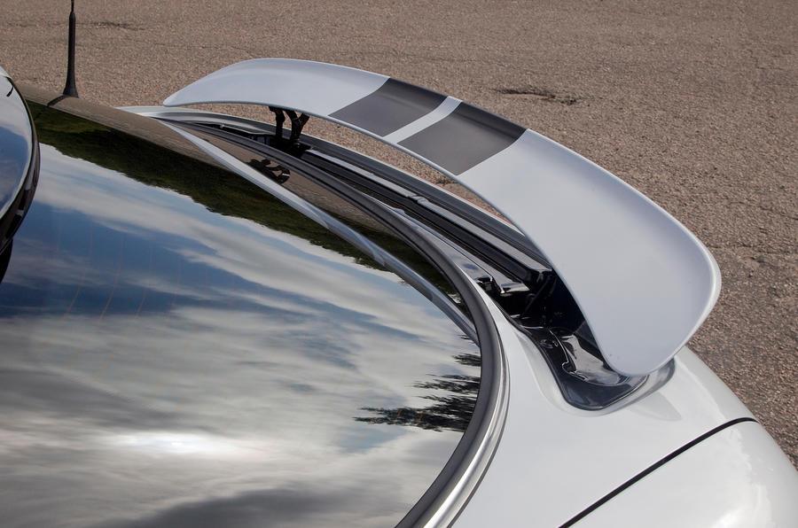Mini Coupé rear spoiler
