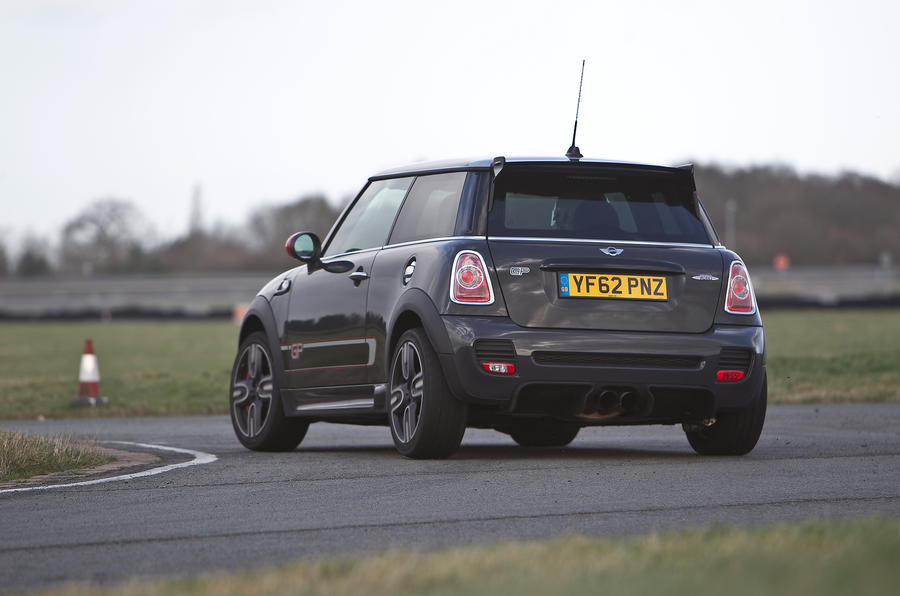 Mini GP rear cornering