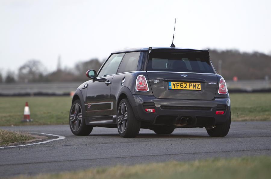 Mini GP rear cornering