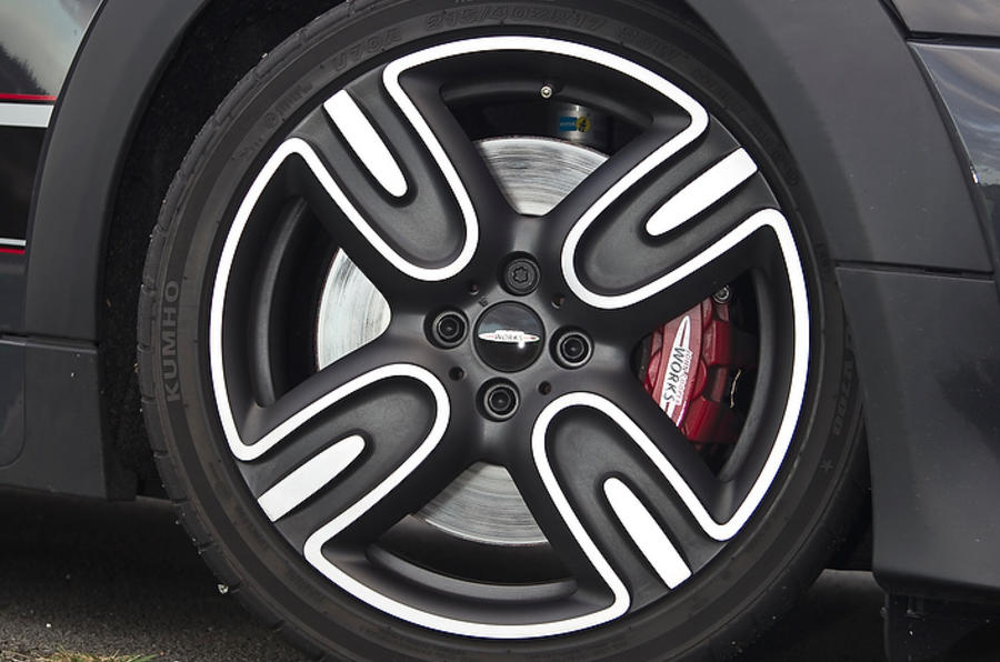 17in Mini GP alloy wheels