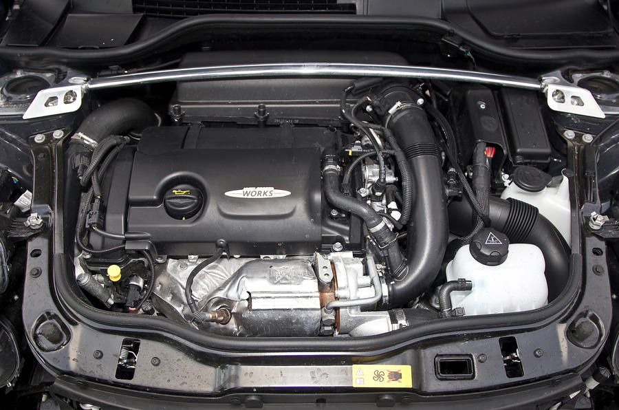 Mini GP 1.6-litre petrol engine