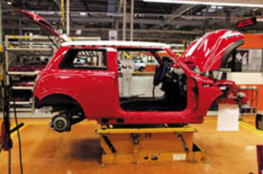 UK Mini plant set to expand