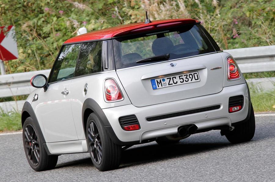 Mini Cooper S JCW rear