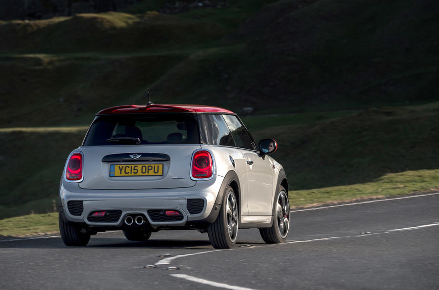 Mini John Cooper Works rear