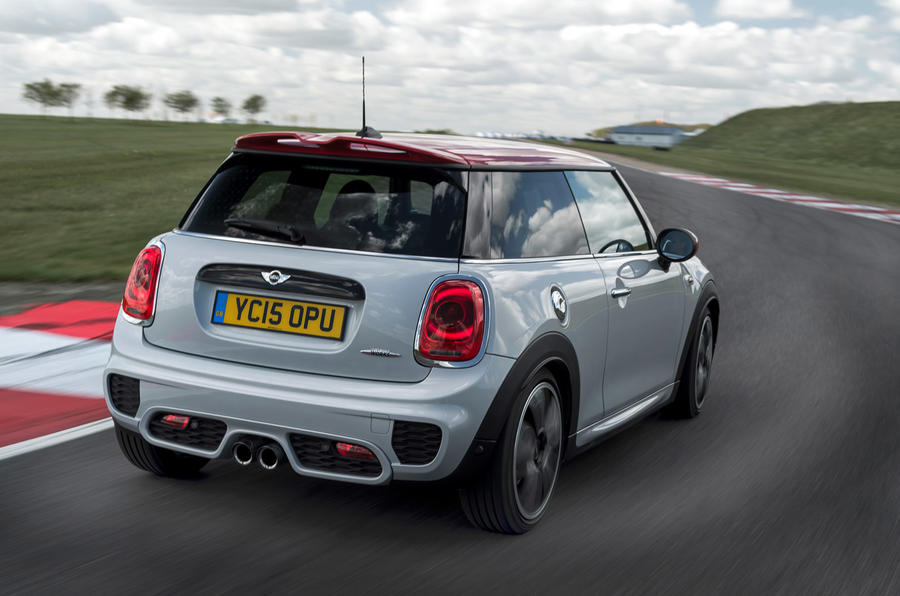 Mini JCW rear cornering