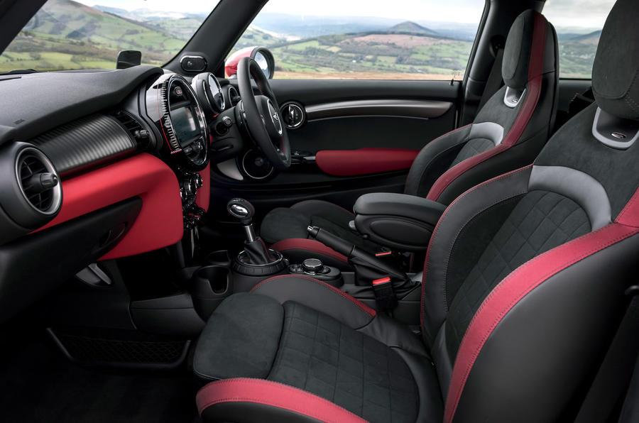 Mini JCW front seats