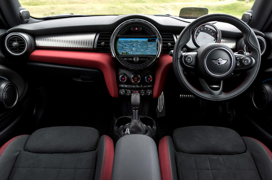 Mini JCW dashboard