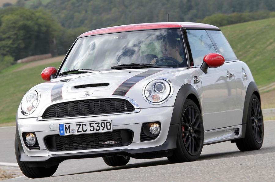 mini cooper s john cooper works first drive review review autocar. Black Bedroom Furniture Sets. Home Design Ideas