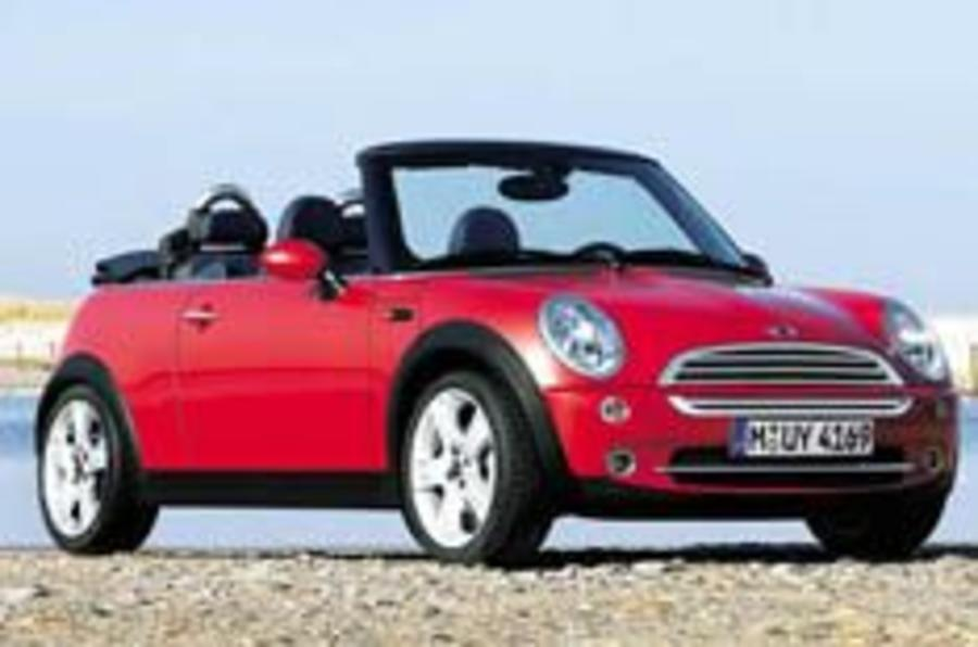 Maxi exposure for Mini Convertible