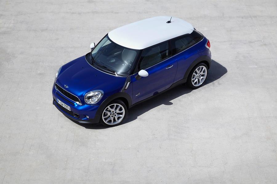 Mini Paceman Cooper S top profile