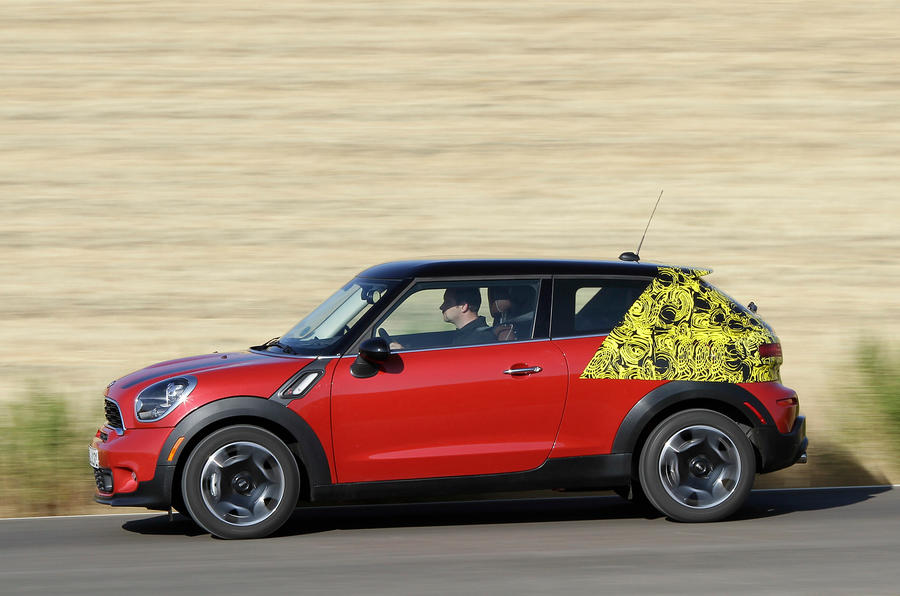 Mini Paceman Cooper S side profile