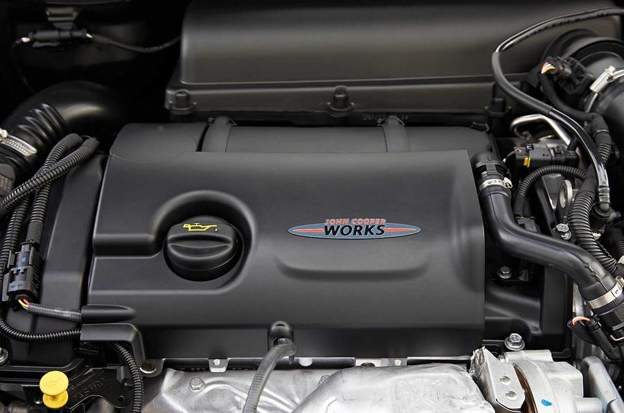 1.6-litre Mini Paceman JCW engine
