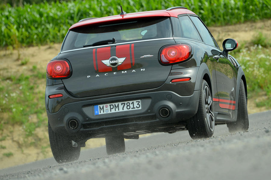 Mini JCW Paceman All4 rear cornering