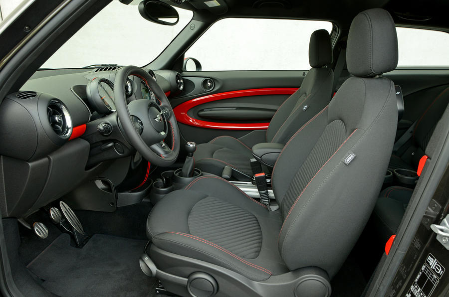 Mini JCW Paceman All4 interior