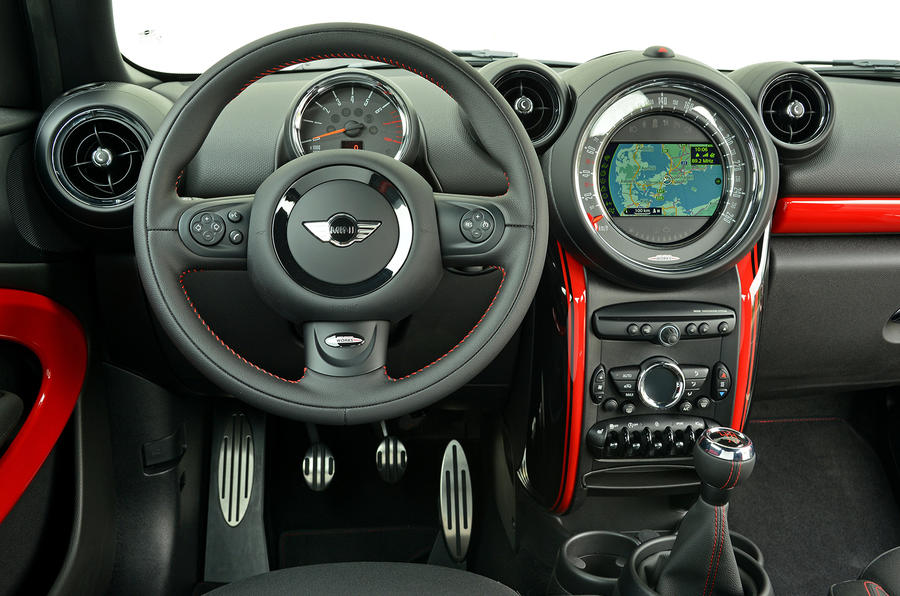 Mini JCW Paceman All4 dashboard