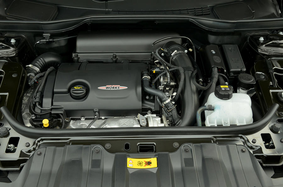 1.6-litre Mini JCW Paceman All4 engine