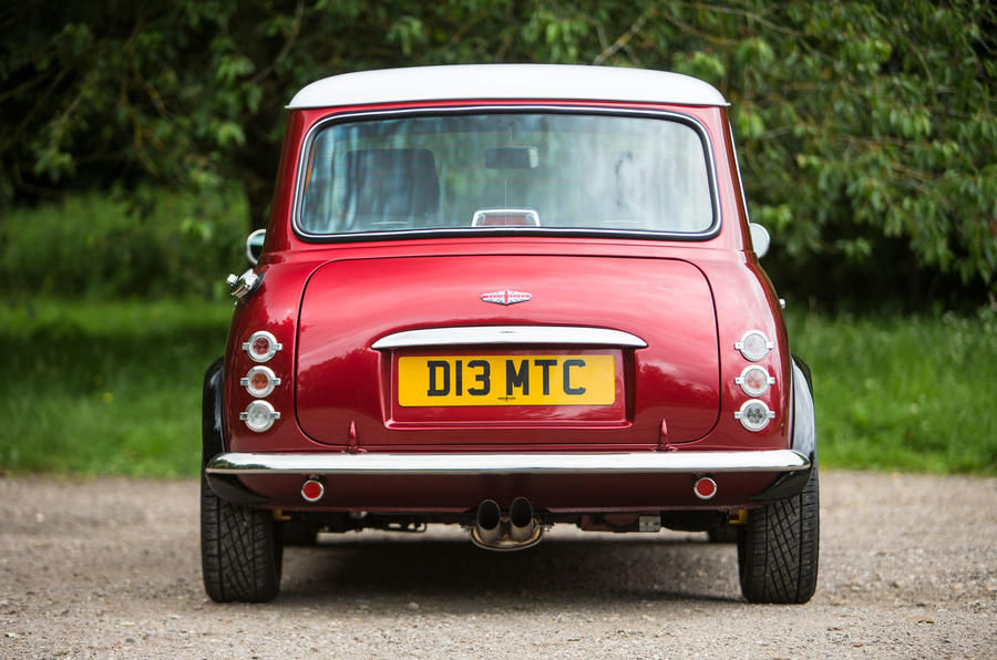 Mini Remastered rear end