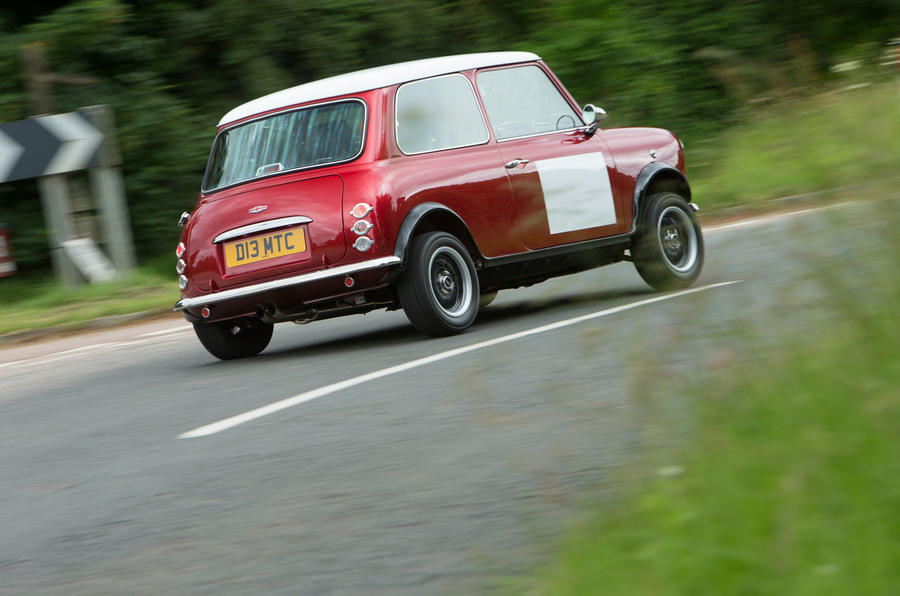 Mini Remastered rear
