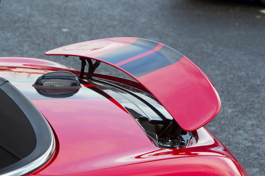 Mini Roadster rear spoiler