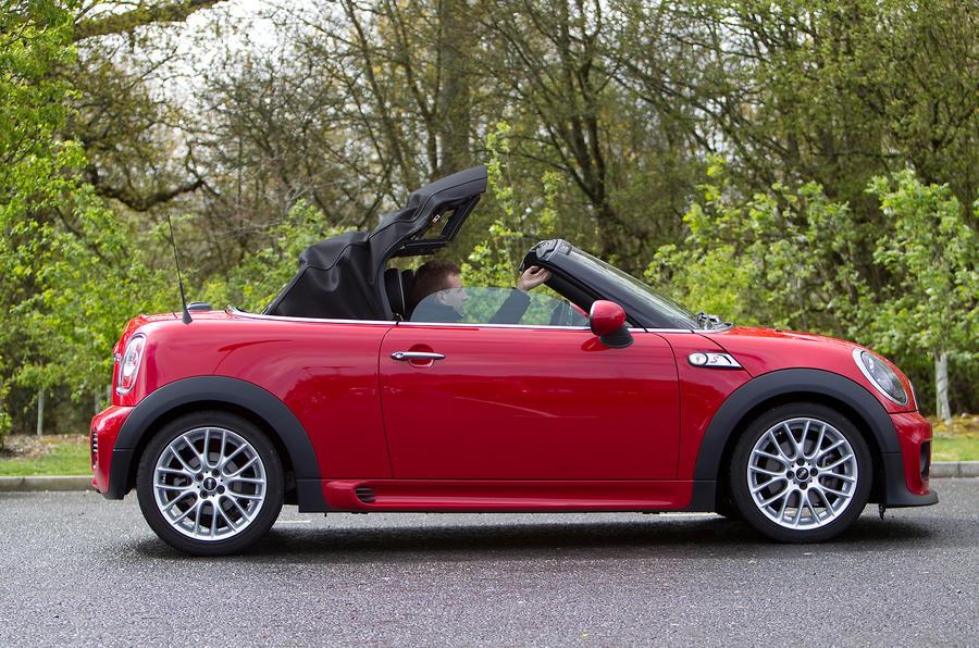 Mini Roadster folding roof