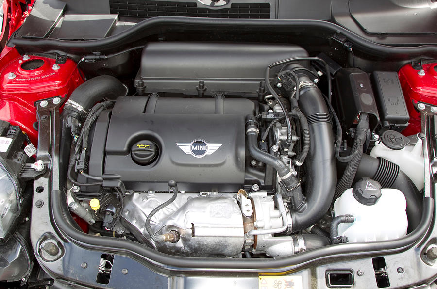 1.6-litre Mini Roadster petrol engine