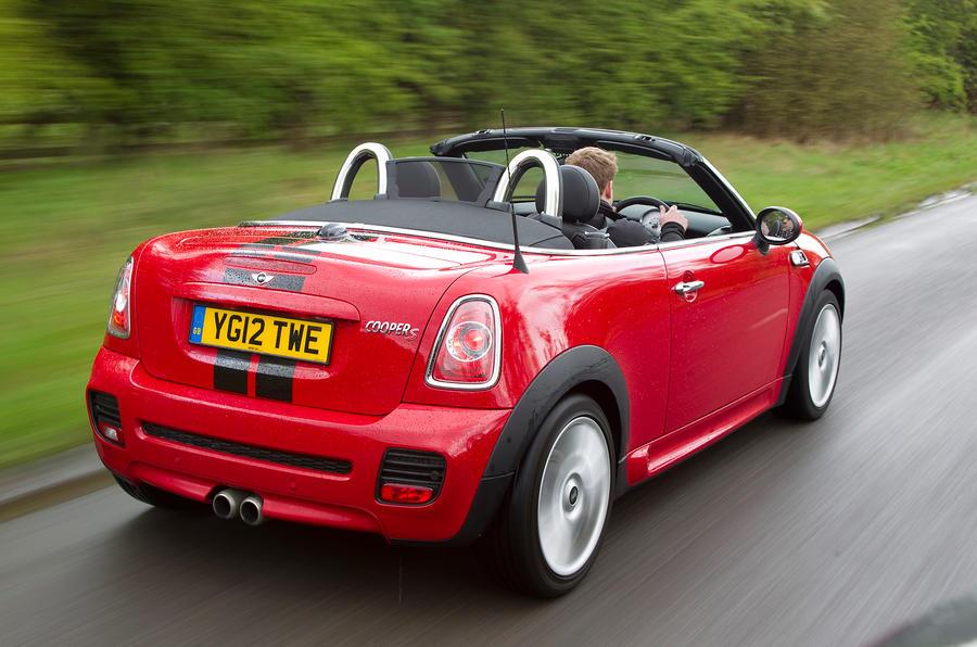 Mini Roadster rear quarter