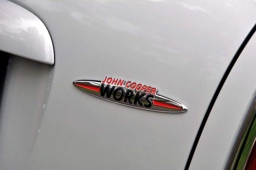 Mini JCW badge