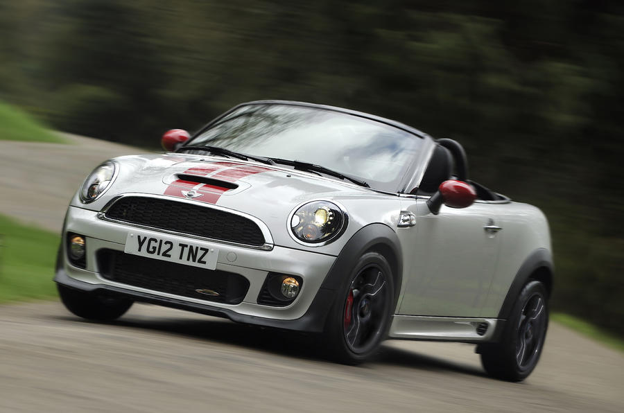 Mini John Cooper Works Roadster Review Autocar