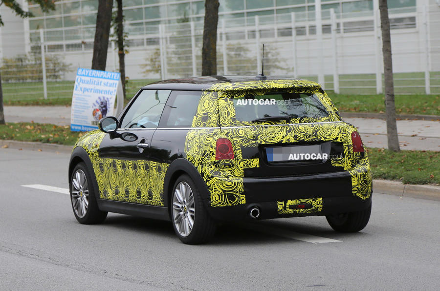 All-new 2014 Mini - latest spy shots
