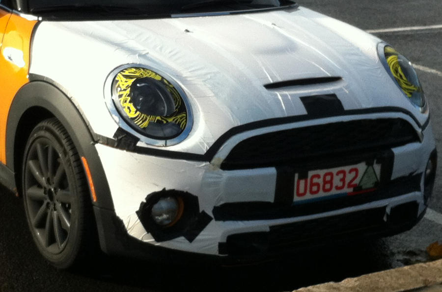 All-new Mini - latest spy shots