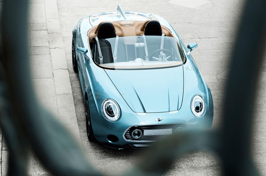 Mini bosses unsure on production Superleggera concept
