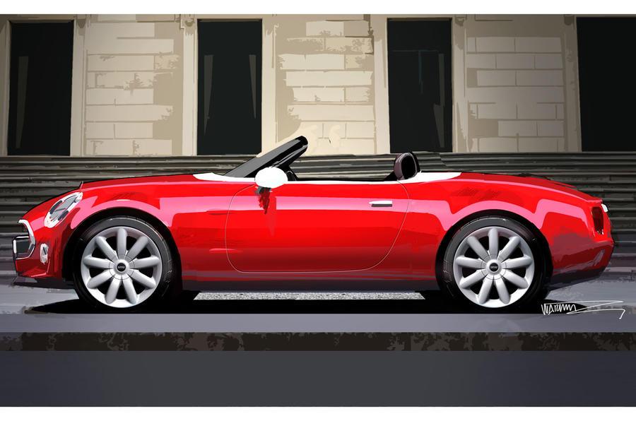 Mini Superleggera Vision concept revealed