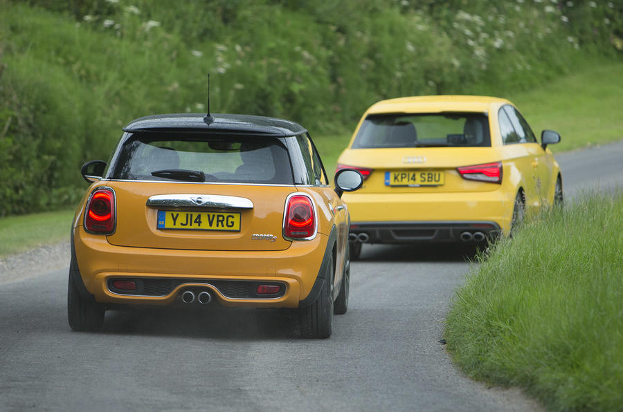 Hot Hatch Special Audi S1 Versus Mini Cooper S Autocar
