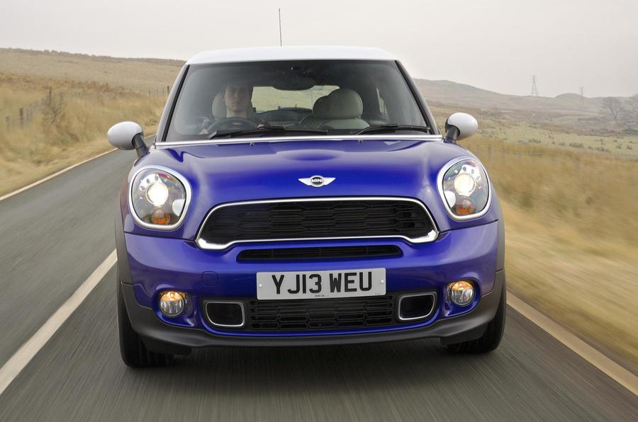 Mini Paceman front end