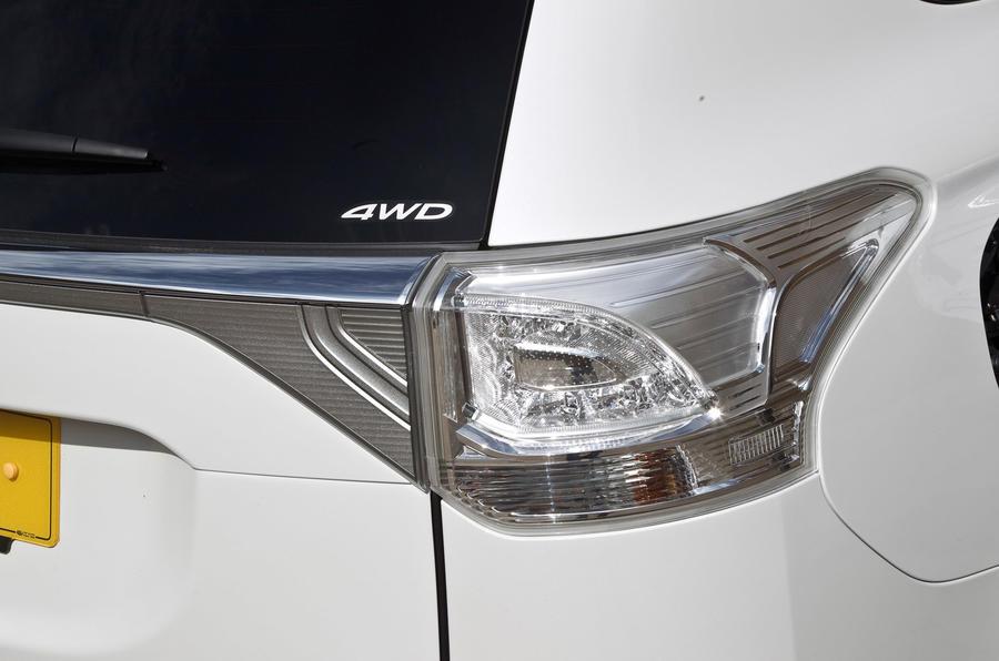 Mitsubishi Outlander PHEV rear light