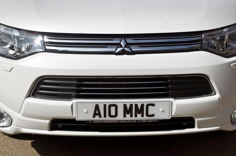 Mitsubishi Outlander PHEV front grille