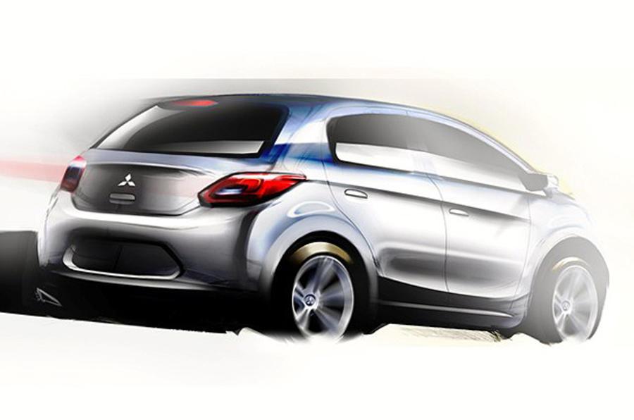 Mitsubishi shows new small car