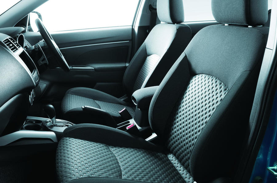 Mitsubishi crossover - new pics