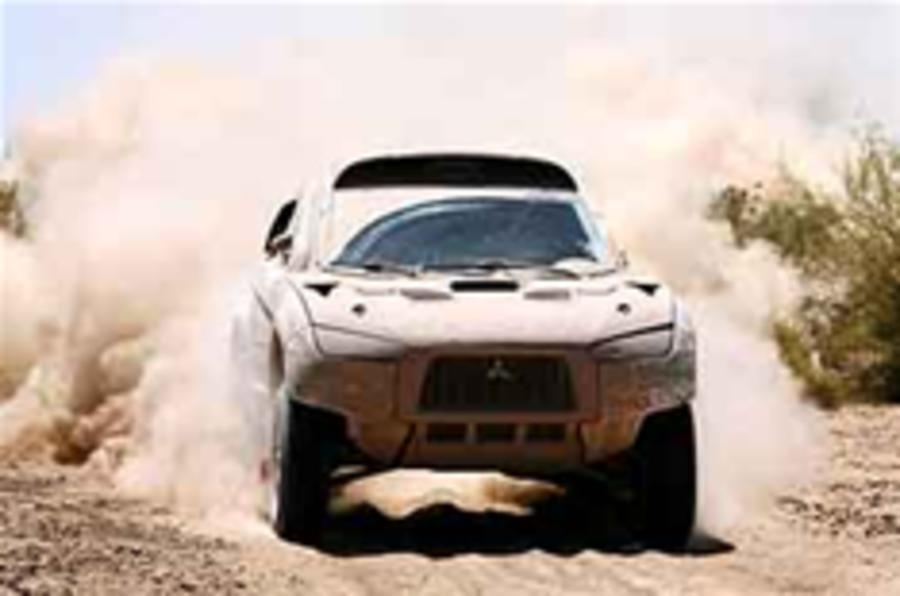 Mitsubishi quits off-road sport
