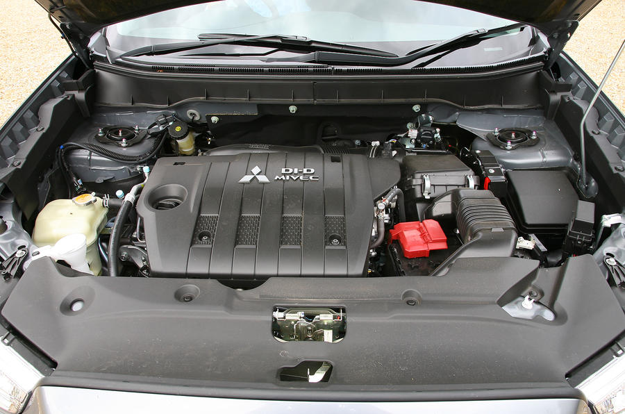 Mitsubishi ASX diesel engine