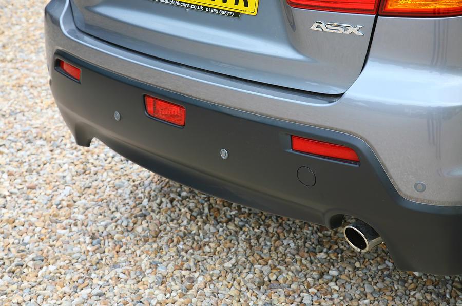 Mitsubishi ASX rear plastic diffuser