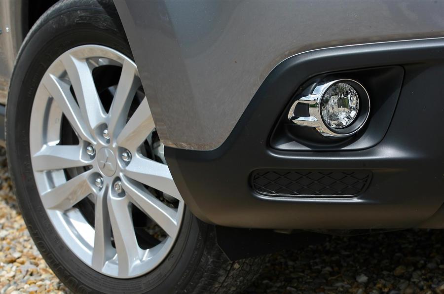 17in Mitsubishi ASX alloy wheels