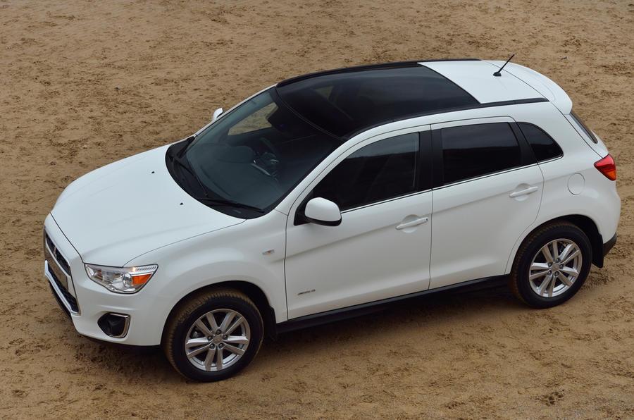 Mitsubishi ASX side profile