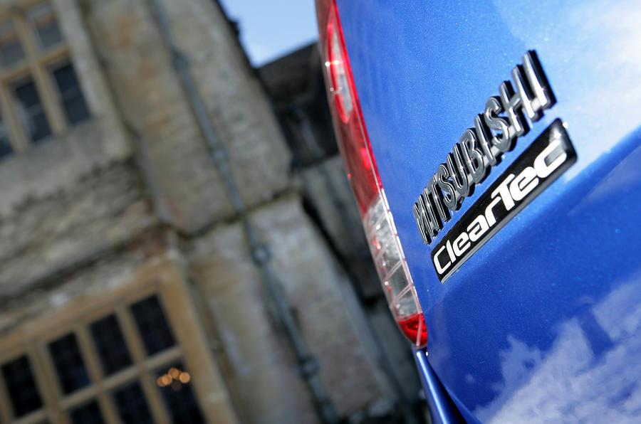 Mitsubishi Colt badging