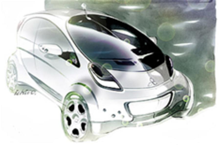 Sketch reveals European iMiEV