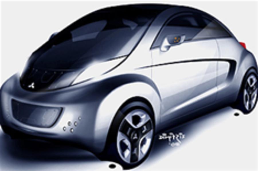 Mitsubishi's electric concept