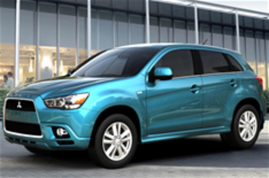 Mitsubishi reveals RVR crossover