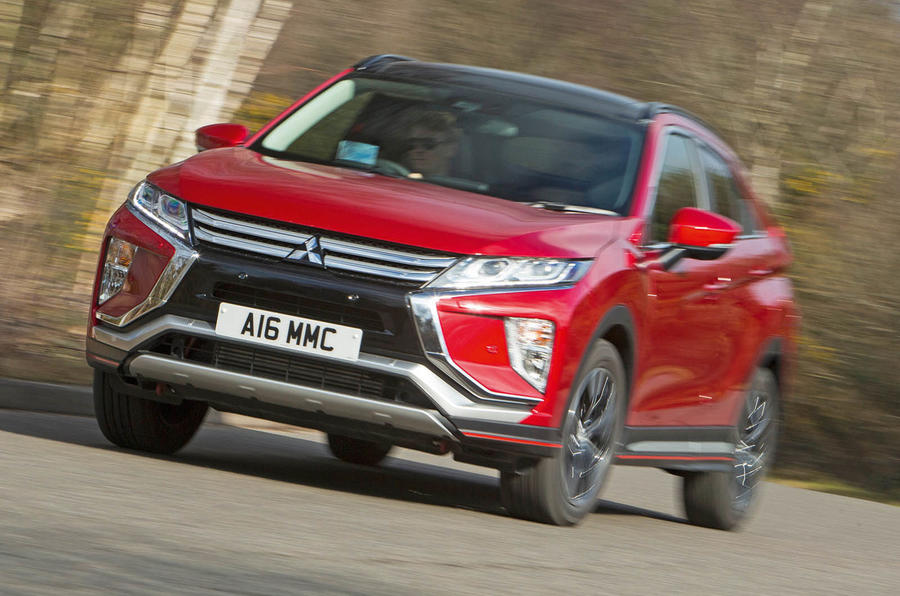 Mitsibushi Eclipse Cross 2018 review cornering