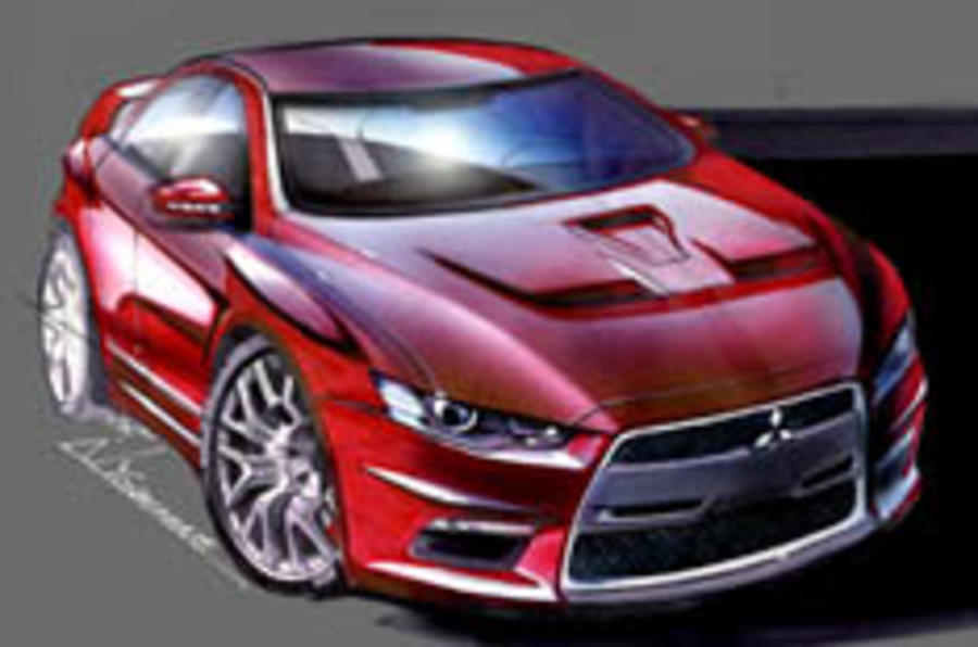Detroit show: see the next Evo unveiled